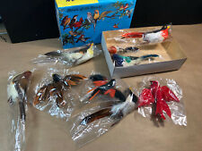 Vtg Lot of 9 Artificial Crafting Holiday Craft Feather variety discoveries inc A
