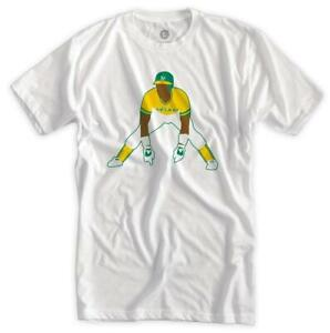 Rickey Henderson Classic Athletics Shirt Oakland MLB Champs Baseball 2021 New