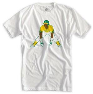 Rickey Henderson Classic Athletics Shirt Oakland MLB Champs Baseball 2021 New