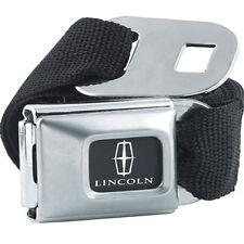 LincolnLogo Licensed Seat Belt  Design Belt Buckle Combo for Pants