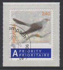 SVIZZERA SWISS SCHWEIZ 2006 Uccelli USATO 1°GIORNO