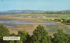 postcard  Somerset Butlins  Minehead  M9 panorama  beach and holiday camp posted