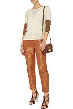 ELIZABETH AND JAMES Anselm Jacquard Brocade Metallic Pants Size 4 NWT $345