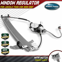 Power Window Regulator w/ Motor for Lincoln Town Car 1993-1997 Front Driver Left