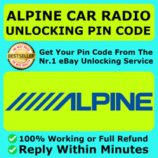 ALPINE MERCEDES CHRYSLER CHRYSLER JEEP JAGUAR RADIO PIN CODE UNLOCK DECODE FAST