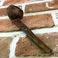 Vintage Imported Briar Flame Grain Kaywoodie tobacco pipe