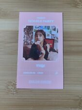 Kpop (G) I-dle Official Dumdi Dumdi Yuqi Photocard Invitation