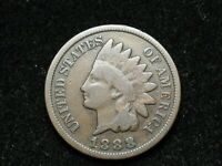 2021 SALE!!  NICE 1888 INDIAN HEAD CENT PENNY  *U.S. COLLECTIBLE COIN* #63w