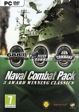 Comando de la flota + Sub Comando + 688 Hunter Para Pc (nuevo Y Sellado)
