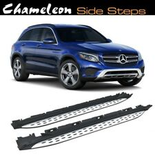 Running Boards / Side Steps for use on Mercedes GLC (X253) 2015 to Present