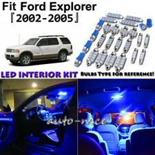 13x Blue LED Interior Lights Package Kit For 2002 2003 2004 2005 Ford Explorer