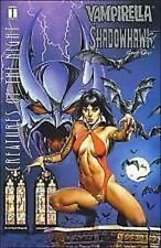 Vampirella Shadowhawk Creatures of the Night Harris Comics Book #1 VFNM Jusco