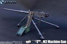 1/6 ZY Toys Browning M2 Machine Gun Model Cal. .50 M2HB Type F 12'' Male Figure