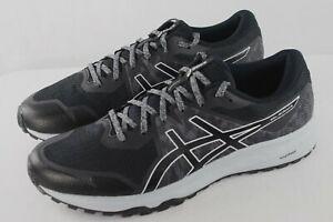 asics Gel-Scram 6 Men's Graphite Grey/Black Running Shoes Size 13 NEW