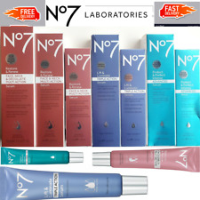 No7 SERUM Restore&Renew,Protect&Perfect Intense And Lift&Luminate  Original New