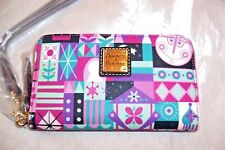"""Authentic Disney Parks """"It'S A Small World"""" Wallet By Dooney & Bourke Nwt #2"""
