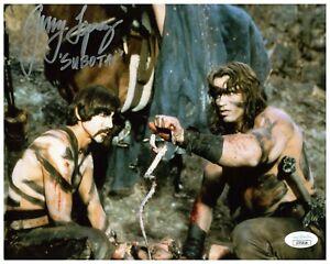 Gerry Lopez Autograph Signed 8x10 Photo - Conan the Barbarian (JSA COA)