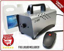 Smoke Fog Machine 400W Projects up to 3.5m Party Stage Event with Fog Liquid