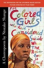 For Colored Girls Who Have Considered Suicide When the Rainbow Is Enuf by Ntoza