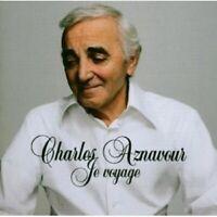 CHARLES AZNAVOUR - JE VOYAGE  CD FRANCAIS POP CAHNSON NEU