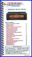 NIFTY MM-TMV71A TM-V71A Nifty! Quick Reference Guide