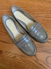 Ralph Lauren Women's Patent Leather Loafers Size 7.5 B Taupe