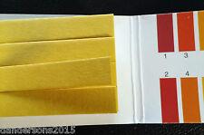 160 piece pH Tester Kit 1 - 14 pH Book - Universal Indicator Paper Colour Change