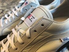 Vans Made In USA Style 113 Pro USA (Old Skool type) - white - New In Box