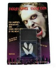 2 Pair Vampire Fangs Teeth Tooth Cap Fright Night Werewolf Fangs Halloween