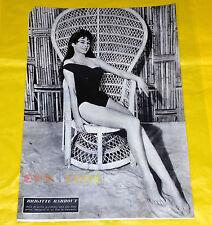Ritaglio Clipping Coupure Zeitungsausschnitt - BRIGITTE BARDOT - 1956