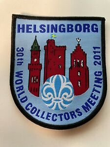 Boy Scout - World Collectors meeting 2011 official badge