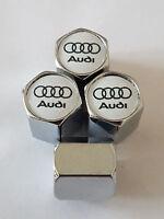 AUDI car Valve Alloy wheel dust Caps All models All Cars AUDI RS S LINE TT RS5