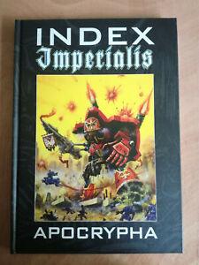 Index Imperialis Apocrypha Warhammer 40k  Mint Condition - OOP