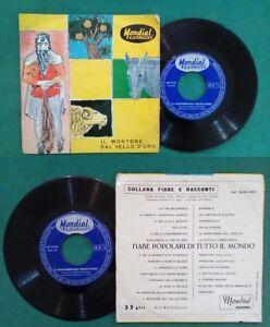 """7""""45 Giri CESARINO Il Montone Dal Vello D'oro (Parte 1 e 2)Non Music Storie 1961"""