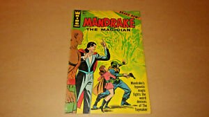 Mandrake The Magician 1 King Comics No. 1 Sept 1966  VG 4.0