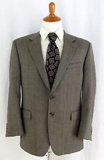 Ralph Lauren Sport Coat 42R Wool Jacket Blazer Herringbone Grey