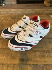 NORTHWAVE Cycling Shoes Airflow System White Leather Size 9.5