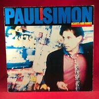 PAUL SIMON Hearts And Bones 1983 German issue VINYL LP EXCELLENT CONDITION