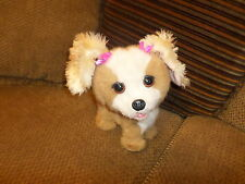 """Htf Adorable 10"""" Furreal Fur Real Happy To See Me Bouncy Electronic Dog Sounds"""