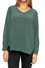 Locker sitzende Damenblusen, - tops & -shirts aus Seide für Party-Blusen
