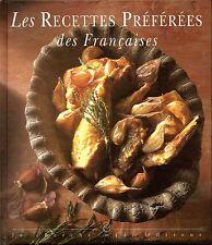 Les recettes préférées des françaises