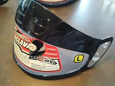 New Zox snowmobile helmet visor large clear unknown fitment various sizes