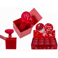 Novelty Red Valentines Heart Jack In Box Love Romantic Cute Anniversary Gifts
