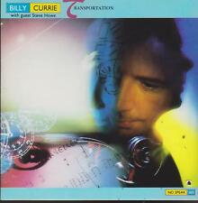 "BILLY CURRIE & STEVE HOWE CD: ""TRANSPORTATION"" 1988"