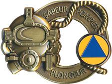 SAPEUR POMPIER, Sécurité Civile, plongeur scaphandrier bronze, Boussemart (9110)