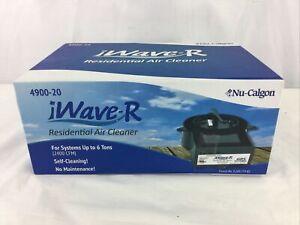Nu-Calgon iWave-R Self Cleaning Residential Bi-Polar Air Purifier 4900-20