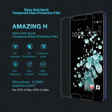 For HTC U Play U Ultra Genuine Nillkin 9H Tempered Glass Screen Protector Film