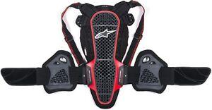 Alpinestars Nucleon KR-3 Black Light Motorcycle Racing Sports Back Protector