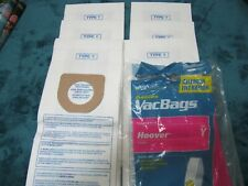 6 - Type Y Vacuum Cleaner Bags Designed To Fit Hoover