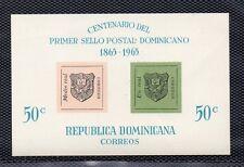Republica Dominicana Centenario del sello año 1965 (DD-69)